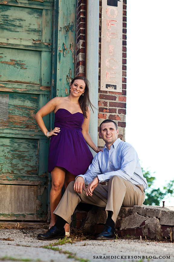 West Bottoms Kansas City engagement photographers