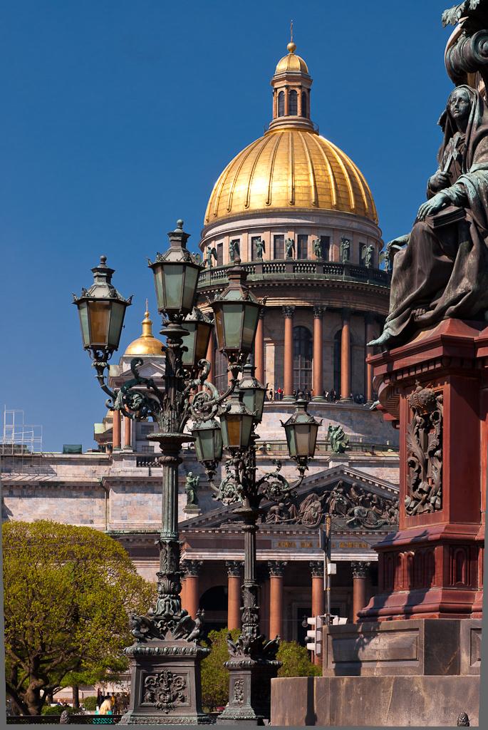 Saint Petersburg. May. Saint Isaac's Cathedral.