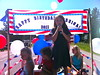 "Abbie singing ""Happy Birthday America"""