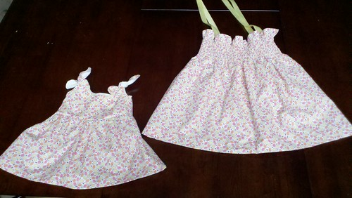 smocked sundress itty bitty baby dress