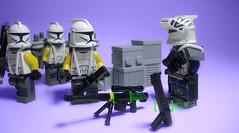 Charlie Squad; 707th sub-division (justin pyne) Tags: fiction trooper star lego batch space sub science company corps guns fi wars division squad clone yankee sci legion blasters kablammo 457th 707th