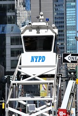 NYPD Midtown South Task Force - Security Traffic Tower (SpottingWithTom) Tags: money tower square force traffic south police nypd security midtown times elevated department task mstf