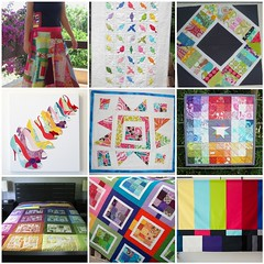 kmquilts inspiration mosaic (Rainbow) (KMQuilts) Tags: rainbow fdsflickrtoys patchwork nubees modernquilting