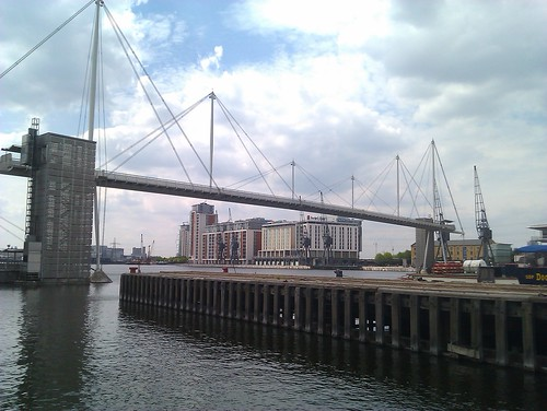 Royal Victoria Dock bridge