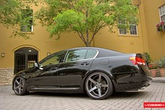 Lexus GS - VVSCV3 (VossenWheels) Tags: wheels deep gs graphite matte concave lexus vossen vvscv3
