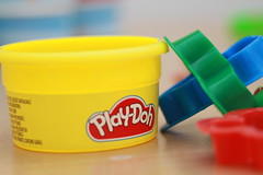 Play-Doh (NatalieP123) Tags: colour dough july playdoh 365 moulding playdough cutters