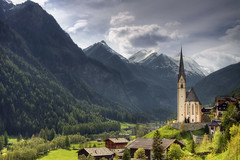 Heiligenblut (mpb11) Tags: mountains church bavaria austria europe valley grossglockner heiligenblut