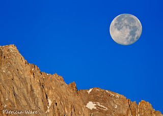 Carmageddon Moon over the Sierra Nevada