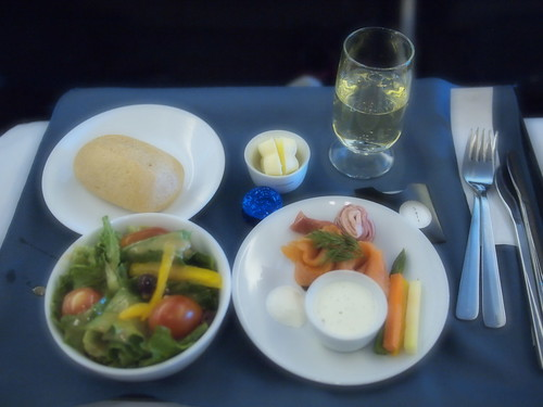 UA891 Business Class Lunch #1