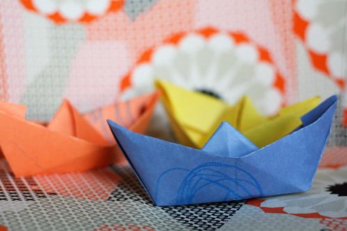 simple origami boats