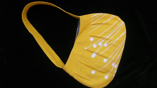 Yellow and Grey Buttercup Bag