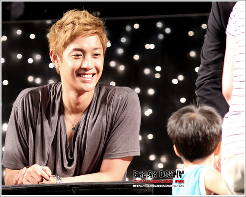 Kim Hyun Joong Fan Signing Event at iPark in Seoul  5