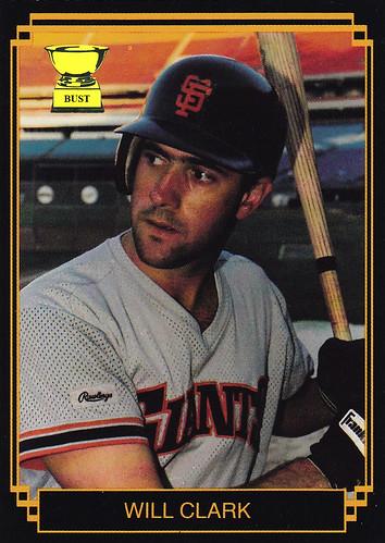 Baseball Card Bust Will Clark 1988 Big League Stars