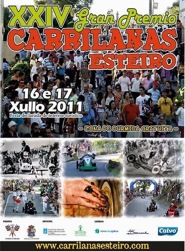 Muros 2011 - Carrilanas de Esteiro - cartel