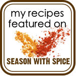My recipes on Season with Spice