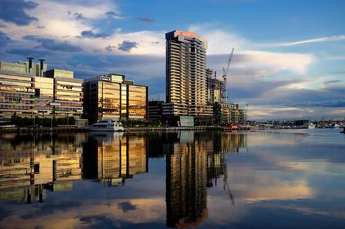 Saturday Night, Docklands, Melbourne, Australia