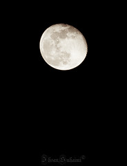 Waning gibbous moon, a night after hay moon (mr_i) Tags: sky cloud moon night nikon zoom