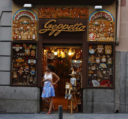 Geppetto, Pinocchio, Lady