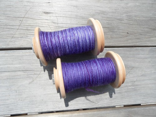 TdF - day 19 - sw merino-ready for 2ply