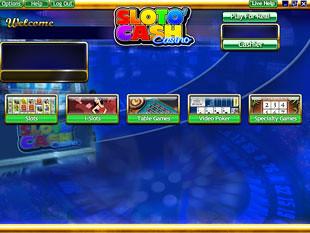 Sloto Cash Casino Lobby