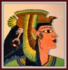 Cleopatra ( paper quilling) (Anastasia Annie Wahalatantiri) Tags: lady paper paperart queen picnik cleopatra quilling paperstrips paperfiligre romanprincses