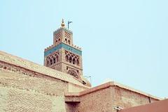 Koutoubia Mosque (cranjam) Tags: minaret mosque morocco marocco marrakech koutoubia moschea minareto muezzin koutoubiamosque almohad