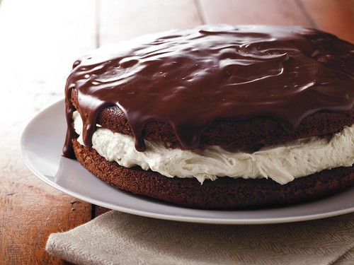 Giant Ganache-Topped Whoopie Pie Recipe