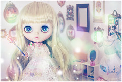 magical girl (Cyristine) Tags: girl toys miniatures dolls guava blythe custom rement simply magical anniedollz