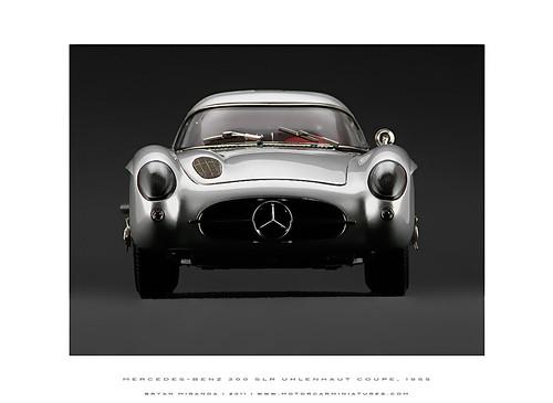 Mercedes-Benz 300 SLR Uhlenhaut Gullwing Coupe