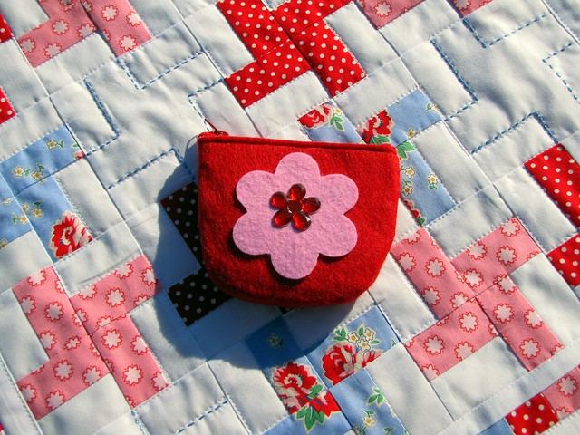 handmade gifted purse