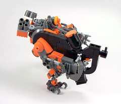 Ogr (intrond) Tags: robot lego hard suit armored mech