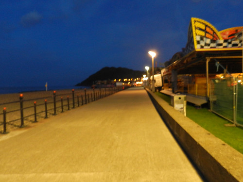 Summer night on Bray Seafront