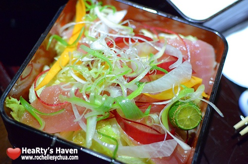 mangetsu sashimi salad