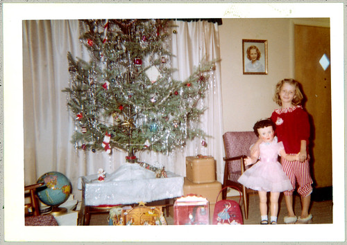 Christmas with a doll