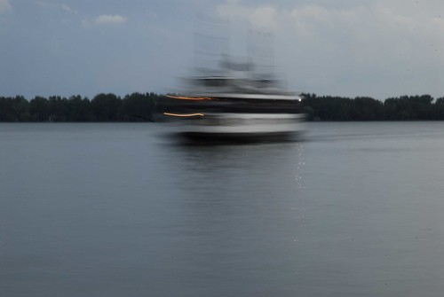 Blurred Ferry