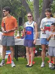 Clare Winning the Federal Cup 5K