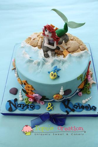 Little Mermaid Cake vs. 2