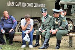 War & Peace show (Arthur Cornwell) Tags: show kent war peace display farm military vehicle hop beltring