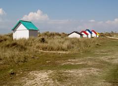 Beach Huts, Gouville-sur-Mer (Snowdrop500) Tags: france normandy beachhuts gouvillesurmer