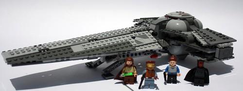 7961 - Sith Infiltrator ... LEAKs レゴ スター・ウォーズ ダー
