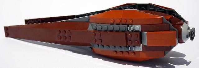 Geo Fighter Bottom Detail