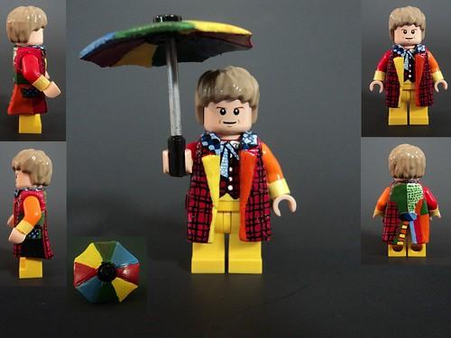 Custom minifig The Sixth Doctor