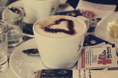 ) (Fim  Senior 2012 !) Tags: happy cofee       colorphotoaward