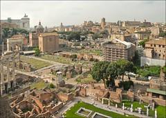 Le Forum Romain, partie nord-ouest (Rome)