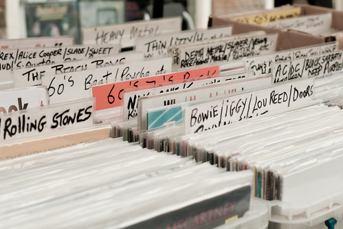Puesto de discos en Candem Town