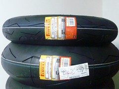 Pirellis for a race in Sep.