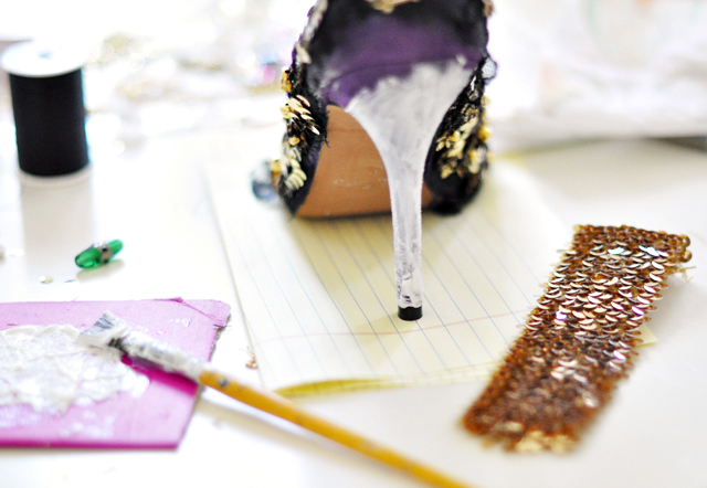 Dolce and Gabbana Embellished Pumps-Shoes-DIY-16