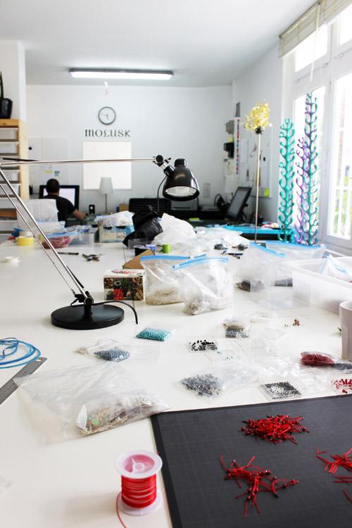 L'atelier en juillet 2011