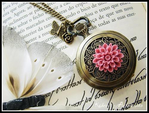 """♥ Pinky vintage...Time ♥"" by kideias - Artesanato"