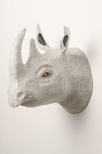 Rhino_Savannah Story Bust